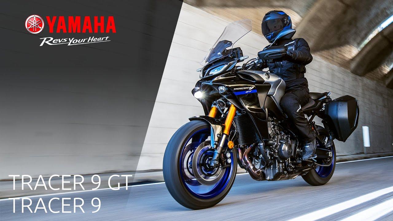 Vorstellung 2021 er Yamaha TRACER 9 - TRACER 9 GT