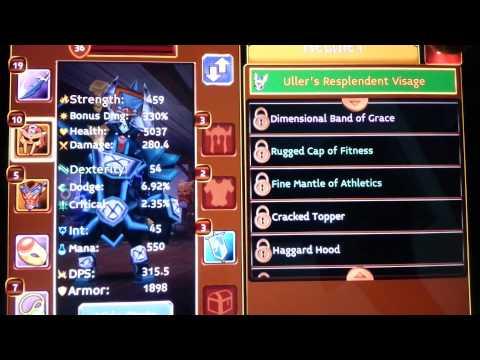Arcane Legends Uller's Resplendent Visage