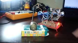 Contrôler un moteur à courant continu par la carte Arduino (simulation)