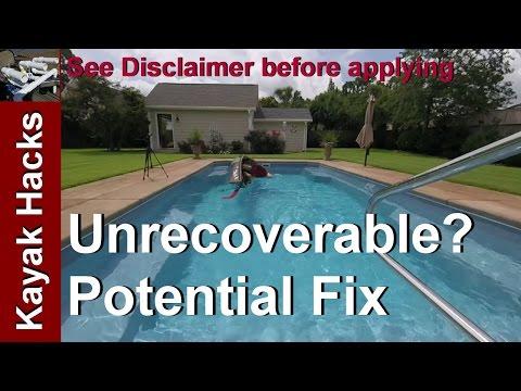 Fix The Self Rescue Problem - Native Ultimate Fishing Kayak Models - No Flip Line