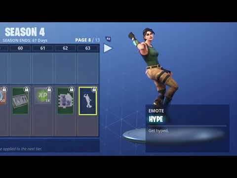 FORTNITE HYPE DANCE! (1 HOUR)