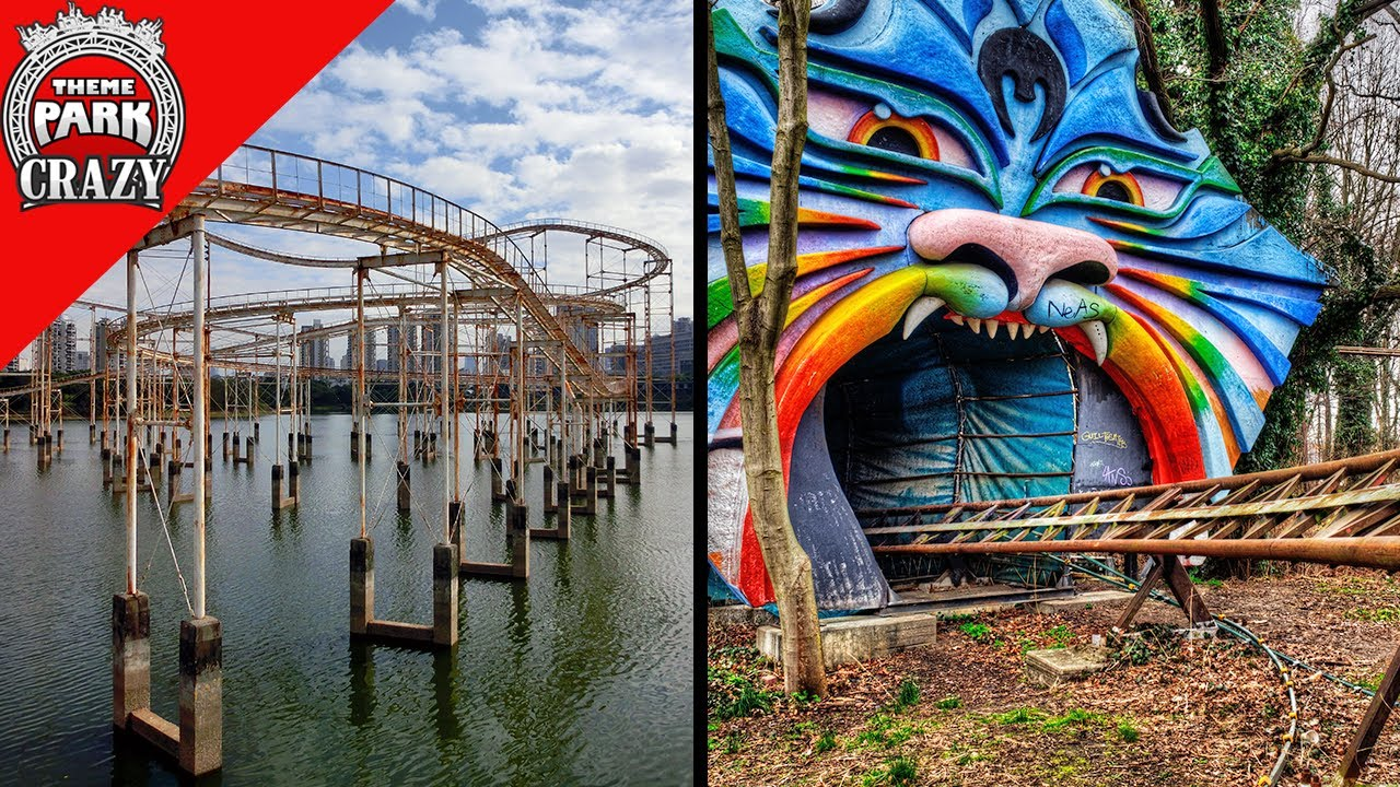 Top 10 ABANDONED Roller Coasters Left to Rot