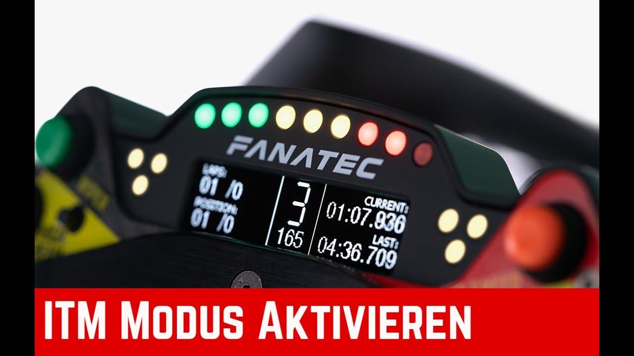 Fanatec Display am Button Module - Legacy und ITM-Modus Tutorial