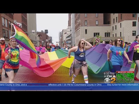 Thousands Show Up For Pittsburgh Pride Day