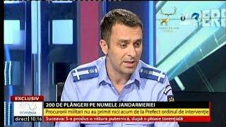 Explicaţiile coordonatorului acțiunilor Jandarmeriei la mitingul din 10 august (#PerfectImperfect)