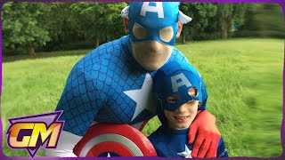 One of Gorgeous Movies's most viewed videos: Captain America 3 Parody: How to Beat Your Dad