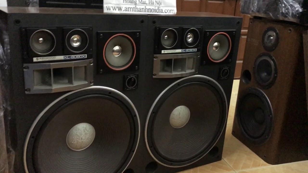 Loa kenwood 8080x bass 40 nhật cổ đẹp phê tại Thắng audio 0983698887