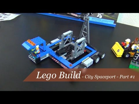 Lego build - Lego City Spaceport Set #60080 - Part #1