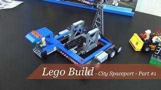 Lego build - Lego City Spaceport Set #60080 - Part #1
