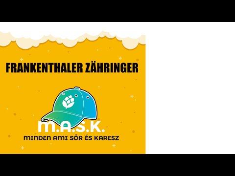 Frankenthaler Zähringer German Beer Premium Német sör teszt - Tud ujjat mutatni?