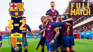 [RETRANSMISIÓN]  Barça B 3 - 2 UE Llagostera