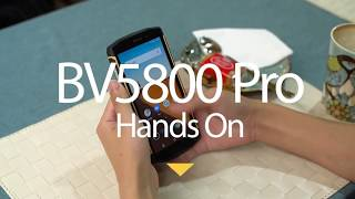 Blackview BV5800 Pro Smartphone 5.5 Inch IP68 Hands On Review - Price
