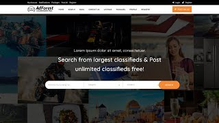 AdForest Wordpress Theme Review & Demo | Classified Ads WordPress Theme | AdForest Price & How to Install