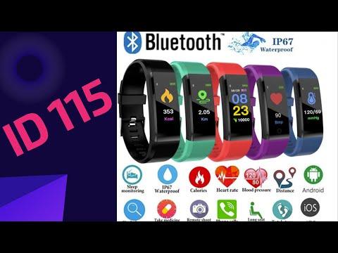 Смарт-часы (М3) ID 115 Plus с Алиэкспресс - Полный Обзор (Smart Watch за копейки!)