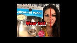 PHYSICIANS FORMULA Mineral Wear Talc-Free Mineral Loose Powder WEAR TEST