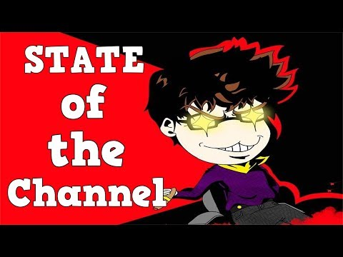 STATE OF THE CHANNEL: Big Thank You/Why Less Videos Recently/Future Videos and Games