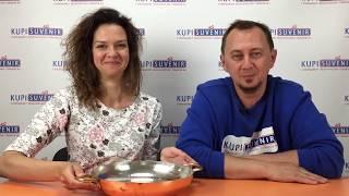 Видеообзор медной сковородки