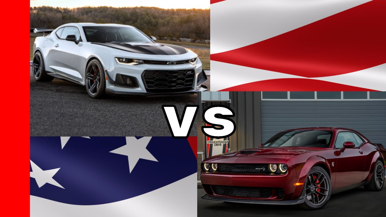 Charger Vs Challenger >> 2018 Camaro ZL1 1LE vs 2018 Challenger SRT Hellcat Widebody - YouTube