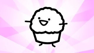 Repeat youtube video It's Muffin Time! (Song with samples from asdfmovie8) - Roomie