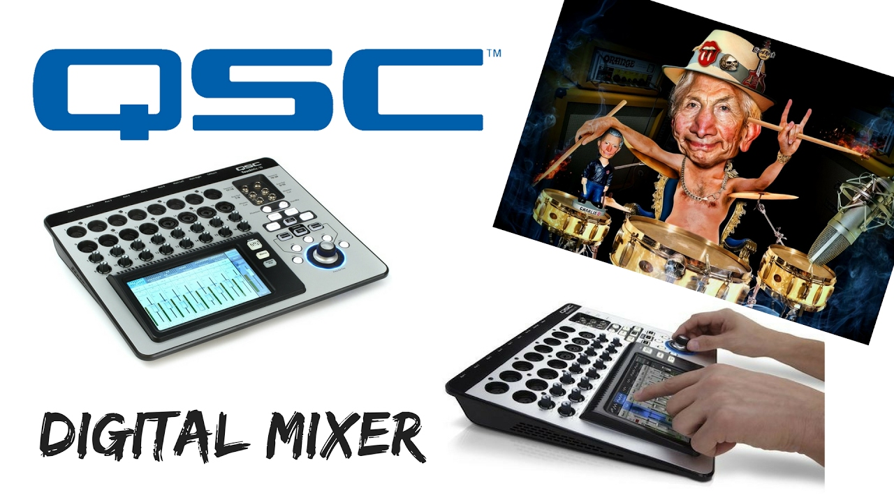 Qsc Touchmix 16, Remote Control Your Mixing Board from ...