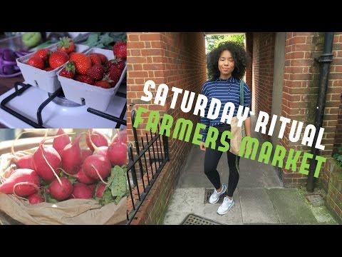 SATURDAY RITUAL | FARMERS MARKET