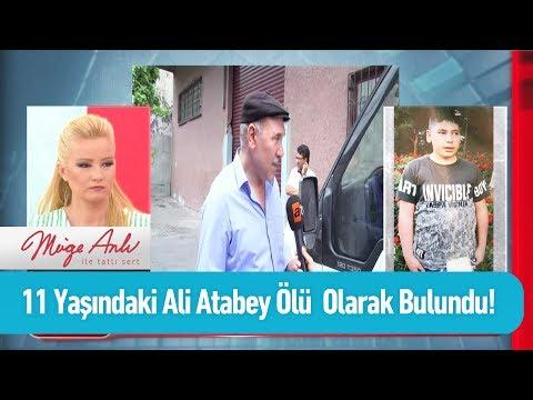 Kayıp Ali Atabey ölü olarak bulundu - Müge Anlı ile Tatlı Sert 10 Haziran 2019