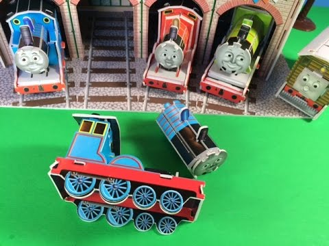 Thomas and Friends Toy Trains Edward, Gordon, James, Henry, Tram Engine Toby