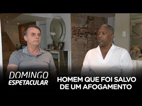 Conheça o homem que foi salvo de um afogamento por Jair Bolsonaro