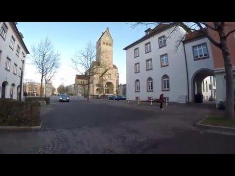 STREET VIEW: Innenstadt von Singen am Hohentwiel in GERMANY