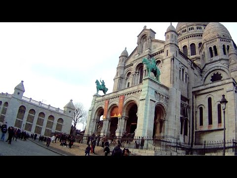 EXPLORING PARIS: The Sacre Couer Church & Amazing Views of Paris
