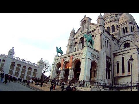 EXPLORING PARIS: The Sacre Couer Church & Amazing Views of Paris