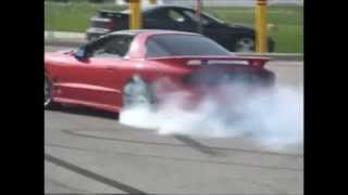 camaro vs. trans am battle of the burnouts