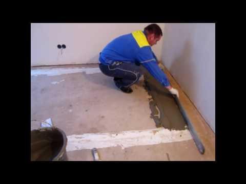 видео: Как выровнять кривой бетонный пол