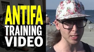 Antifa Learn How To Fight in Surreal Non-Parody Training Video! (REACTION)