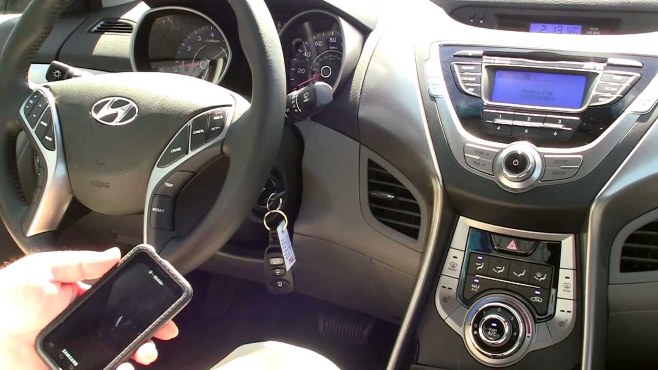 Captivating 2013 Hyundai Elantra Limited   Bluetooth Sync Video   Winston Salem   NC    Bob King Hyundai   YouTube