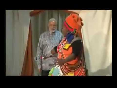 Indian prime minister Narendra modi welcomed by south africa