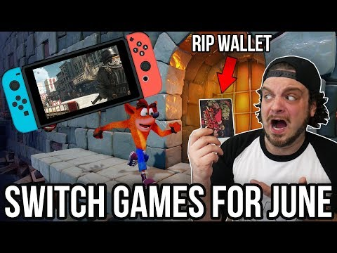 The BEST Nintendo Switch Games for June - RIP WALLETS! | RGT 85