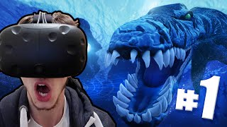 HUGE SEA MONSTERS! - Time Machine VR | Ep1