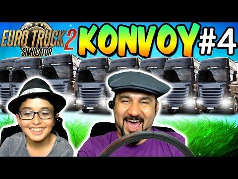 EURO TRUCK SIMULATOR 2 #4 | KONVOY!