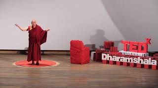 Finding Happiness in an Uncertain World   Geshe Lakdor   TEDxDharamshala