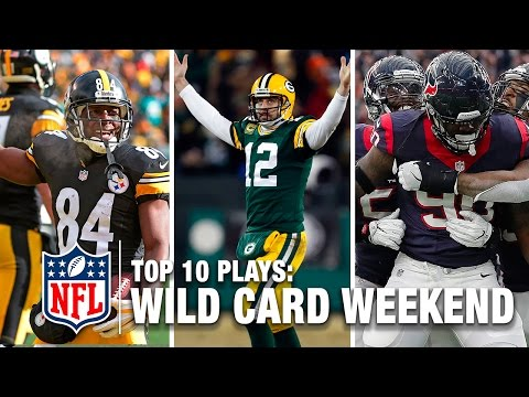 Top 10 Plays of Wild Card Weekend | NFL Network | NFL Total Access