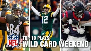 Top 10 Plays of Wild Card Weekend  NFL Network   NFL Total Access