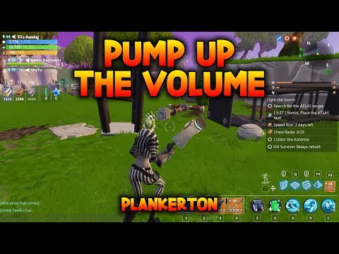 PUMP UP THE VOLUME - Rebuild 6 Survivor Relays - Fortnite Save The World