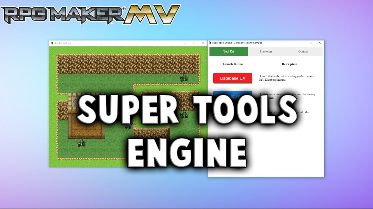 Super Tools Engine – MV Plugin – RPG Maker MV Plugins
