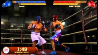 Fight Night Round 3 - PSP Gameplay