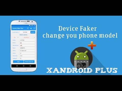 Módulo Xposed Device faker (Root)