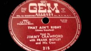 Jimmy Crawford - That Ain