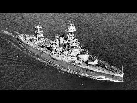 Battleship Texas BB-35 - Allied Invasion at Omaha Beach, Normandy