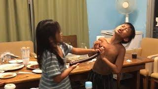 「乳首ドリルすんのかい!」関西子どもお笑い吉本新喜劇。すっちーと吉田 thumbnail