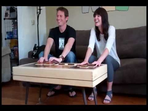 nintendo nes controller coffee table - youtube
